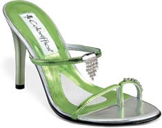 Green Prom Shoes