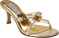 Gold Prom Shoes